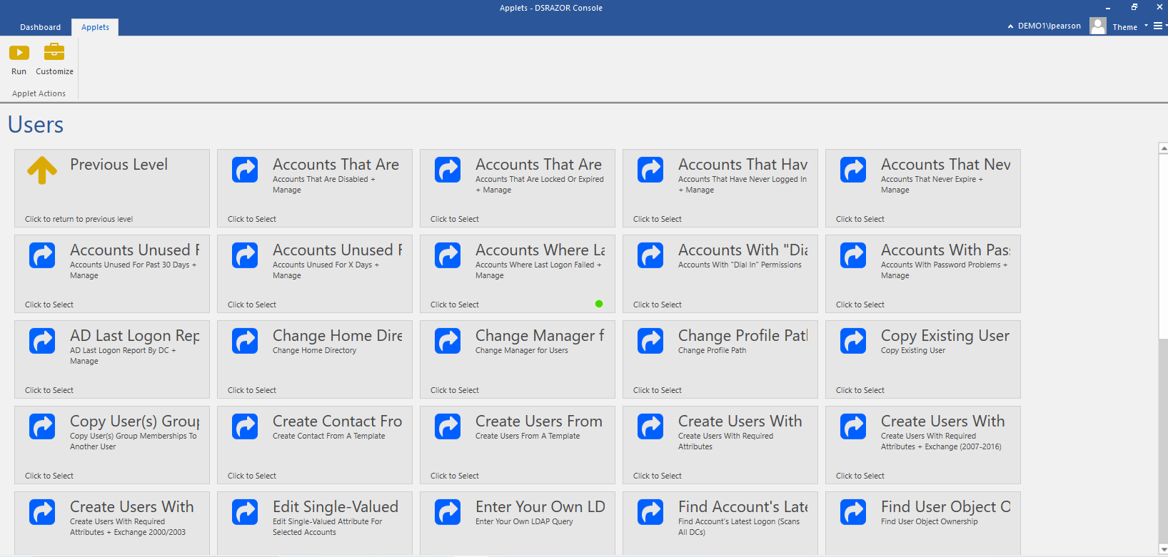 Active Directory User Account Management Plus Delegation