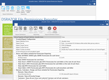 Easily document file and folder permissions